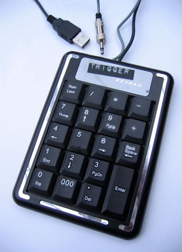 trigger-keypad